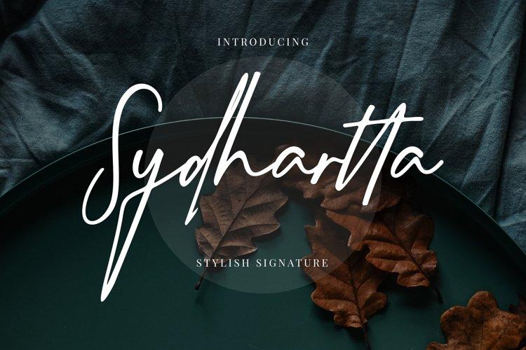 Sydhartta Stylish Signature example image 1