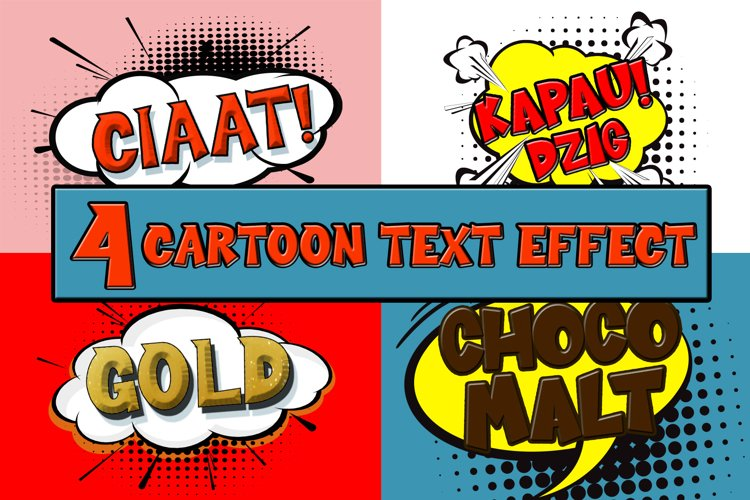 Cartoon Comical Text Effect example image 1