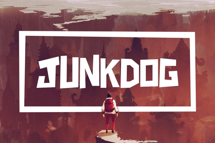 Junkdog Typeface example image 1