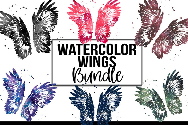 Angel Wings Clipart- Wings PNG Sublimation Download