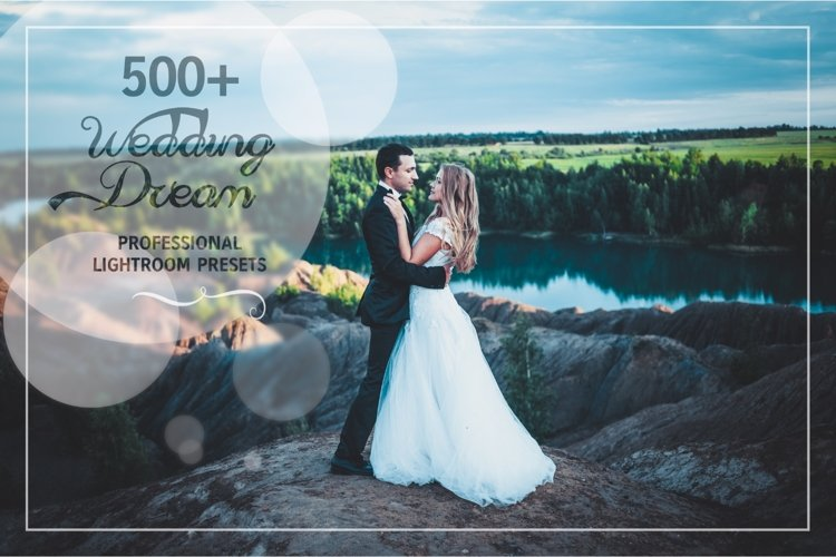 500 Wedding Dream Lightroom Presets example image 1