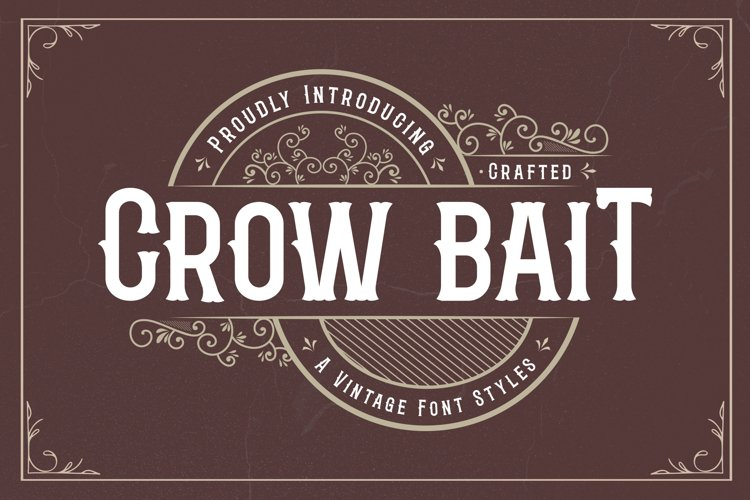 Crow Bait - A Vintage Font Style example image 1