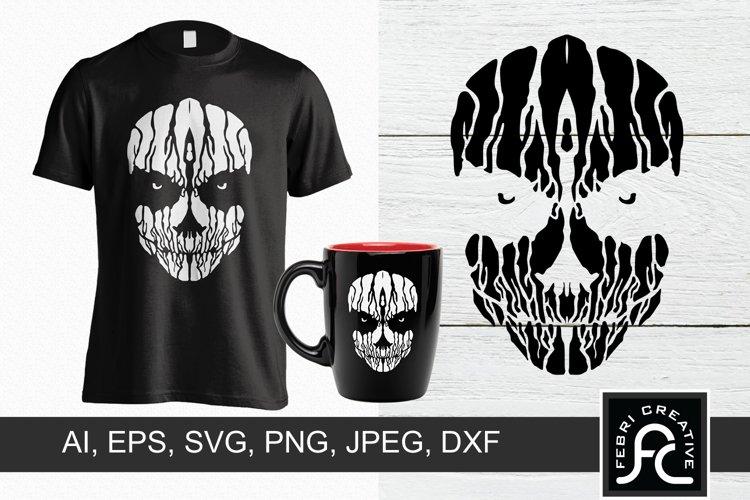 Creepy T-Shirt Design example image 1