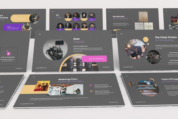 Noxi Filmmaker Google Slides Template example image 1