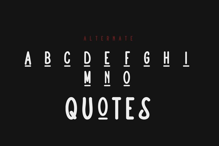 Alternatie Vintage - Font Bundle example image 1