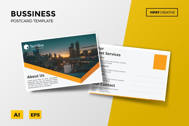 Business Postcard example image 1