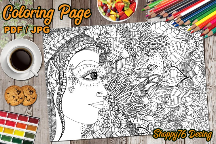Light Elf / coloring page example image 1