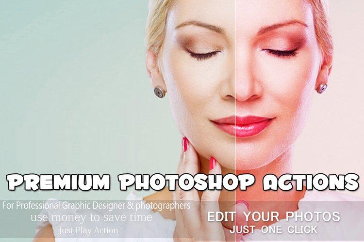 Premium Photoshop Actions example image 1