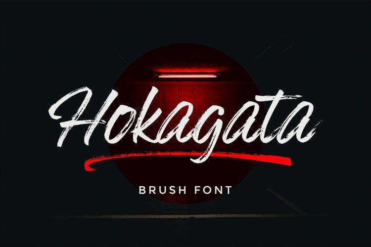 Hokagata Brush example image 1