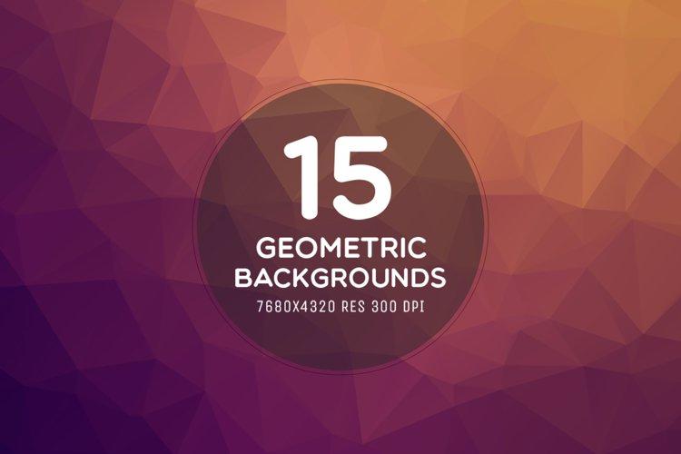 15 Ultra HD 8K Geometric Backgrounds example image 1