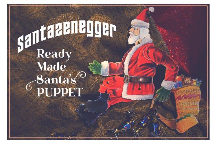 Xmas Santazenegger - Hand drawed Puppet Maker