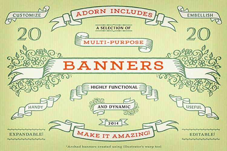 Adorn Banners example image 1