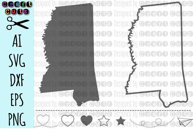 Mississippi Svg State Svg Files Mississippi Vector United States Svg State Clip Art Mississippi Cut File Mississippi State Outline 83513 Svgs Design Bundles