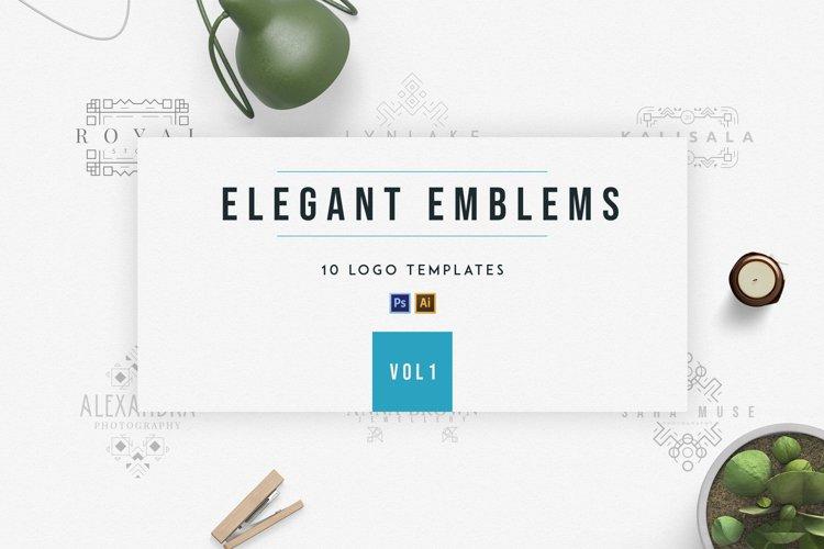 Elegant Emblems   vol.1 example image 1