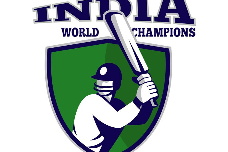 cricket player batsman shield India world champions example image 1