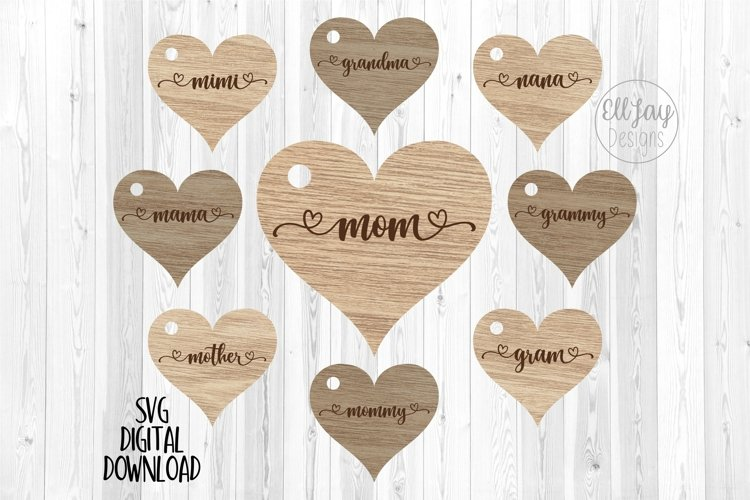 Mothers Day Keychain Designs
