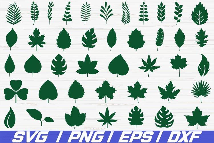 42 Paper Leaves Svg Cut File Leaf Templates Cricut 250121 Cut Files Design Bundles
