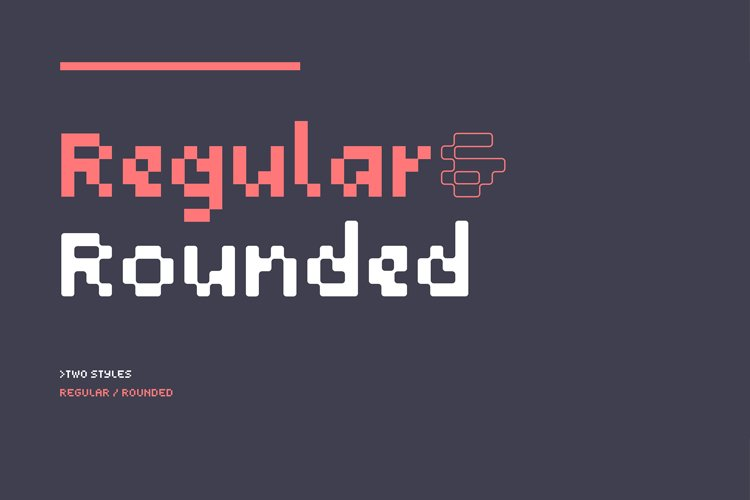 SB Navigator - Pixel Font example image 1