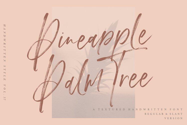 Pineapple Palm Tree example image 1