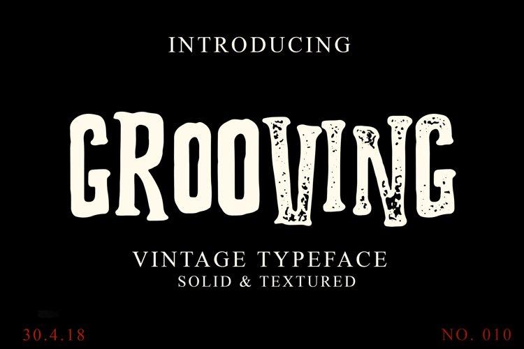 Grooving Vintage Font example image 1