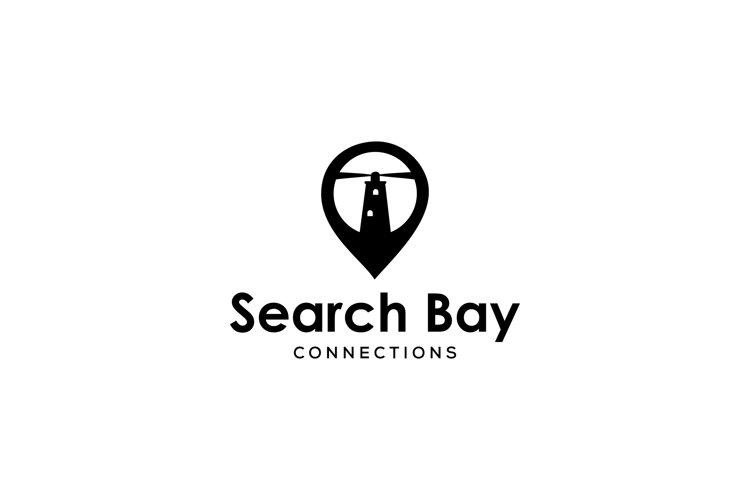 light house pin logo example image 1