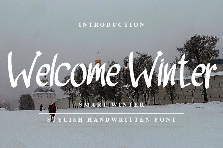 Welcome Winter - Stylish Handwritten Font example image 1