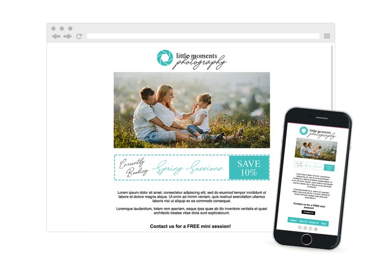 Newsletter Responsive Email Template