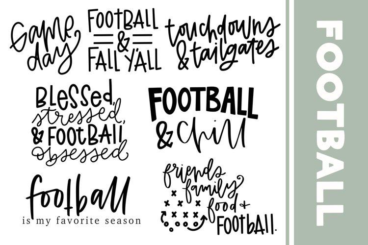 Football SVG BUNDLE example image 1