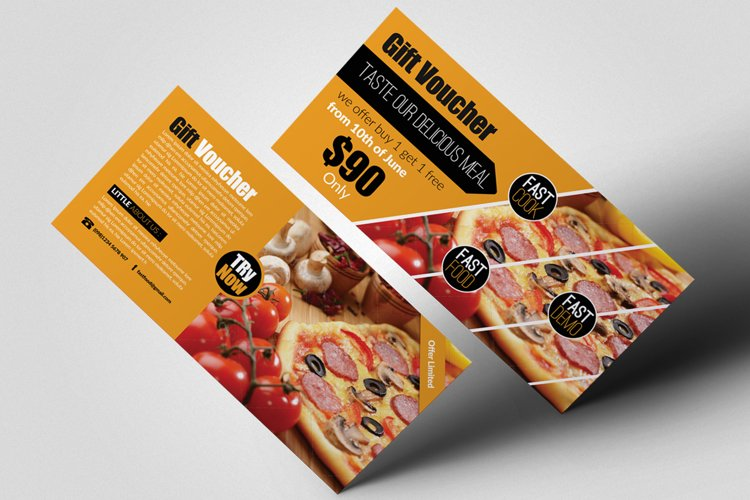 Fast Food Gift Vouchers example image 1