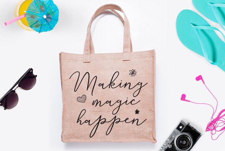 Making magic happen SVG Cut File