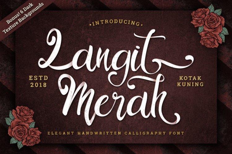 Vintage Script - Langit Merah Font example image 1