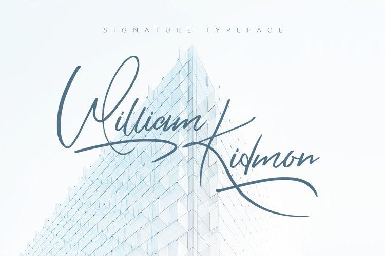 William Kidmon example image 1