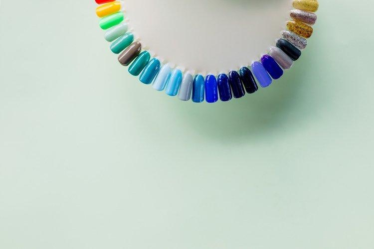 testers nail Polish. Fashion manicure