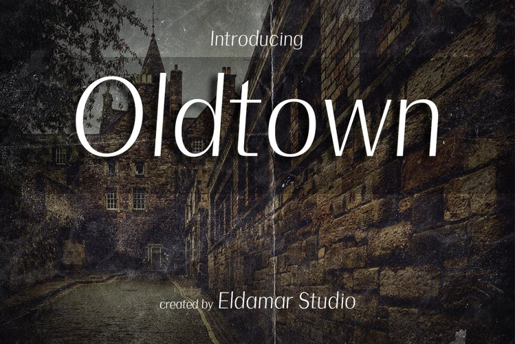 Oldtown Font example image 1