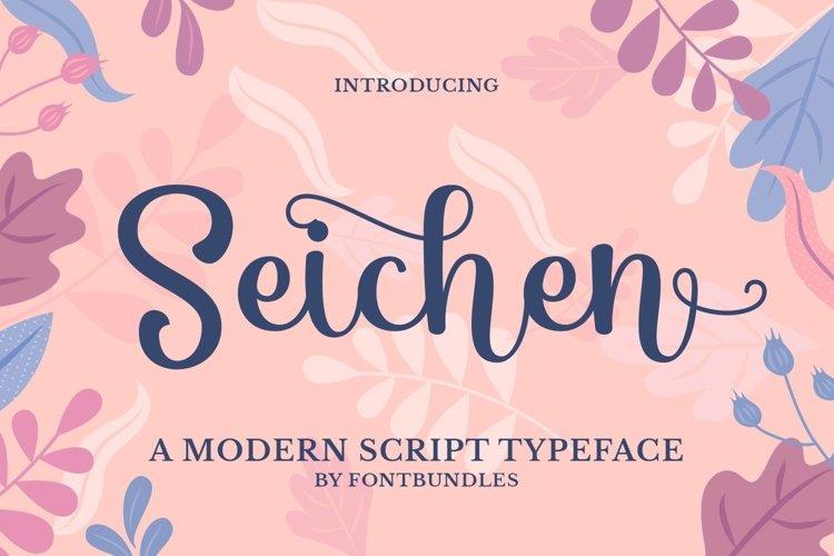 Web Font Seichen