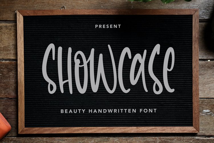 Showcase - Beauty Handwritten Font example image 1