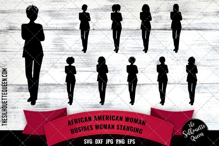 Business Afro Woman example image 1