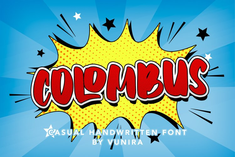 Colombus | Casual Handwritten Font example image 1