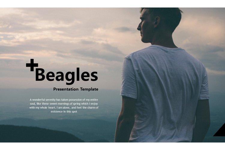 Beagles Presentation Template example image 1