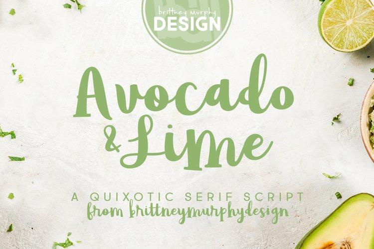 Avocado & Lime