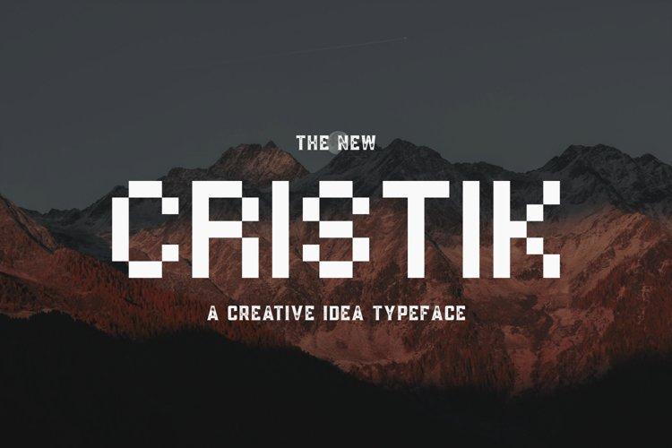 Cristik | A Creative Type example image 1