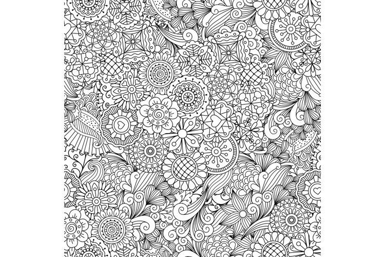 Creative ornamental full frame background example image 1