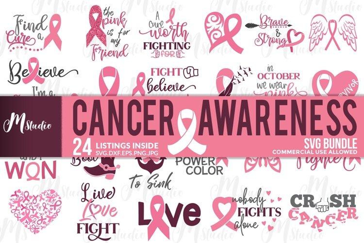 Cancer Awareness bundle SVG