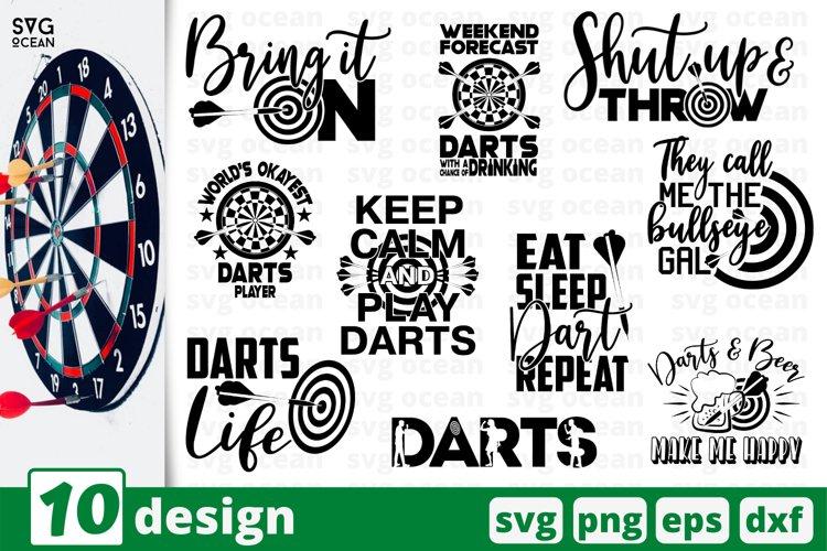 DARTS SVG BUNDLE | Darts cricut | Dart game quotes example image 1