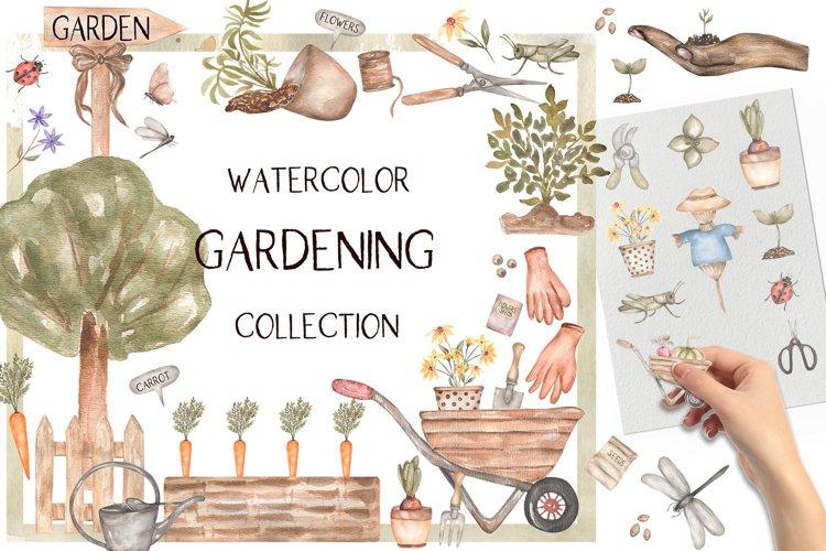 Watercolor Garden Collection example image 1