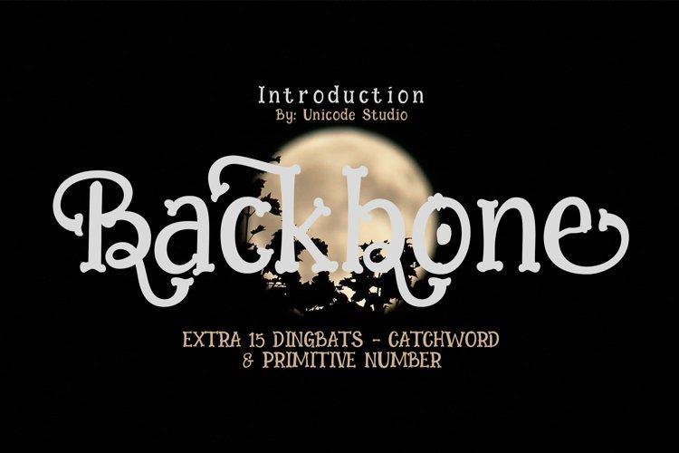 Backbone example image 1