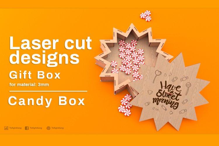 Gift Box - laser cutting
