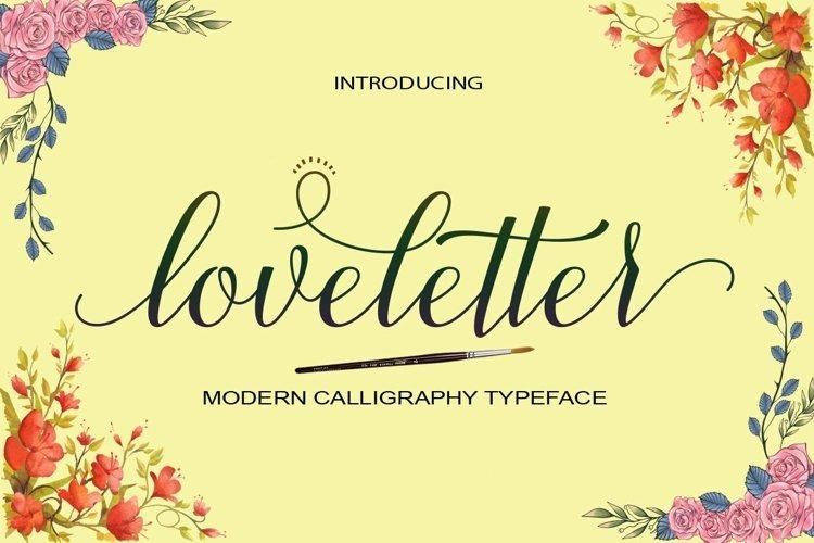 Web Font loveletter example image 1