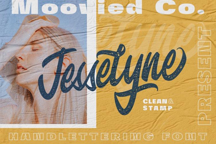 Jesselyne Script Clean & Rough example image 1