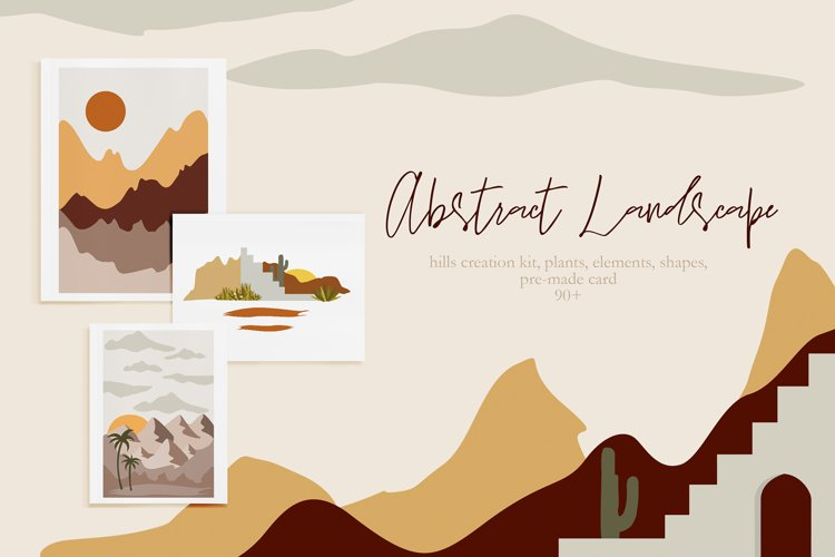 Abstract Landscape Creation Kit example image 1
